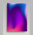 deep volumetric gradient background vector image vector image