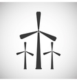 Energy icon design vector image vector image