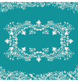 frame fancy background vector image vector image