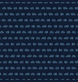 hand drawn stripes indigo blueseamless vector image
