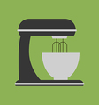 Kitchen Stand Mixer Icon vector image vector image