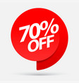 sale special offers discount with price is vector image vector image