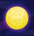 star sun universe icon vector image