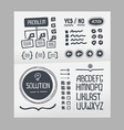 Action Plan - Hand Drawn Elements Template vector image vector image