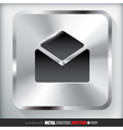 Metal Contact Button vector image vector image