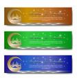 ramadan greeting banner-03 vector image vector image