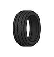 tire cartoon vector image