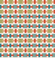 Vintage background with geometrical shapes vector image vector image