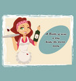 vintage wine poster vector image vector image