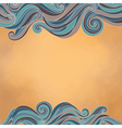 waves paper texture vector image vector image