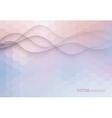 Elegant waves background vector image vector image