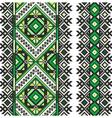 Embrodery pattern vector image