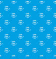 fence modern pattern seamless blue vector image vector image