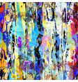 geometric abstract color pattern in graffiti vector image vector image