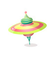 modern cute whirligig gift for small cute kid vector image