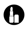 pomade lipstick icon design vector image