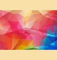 red green and blue bright color background with vector image vector image