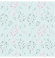 seamless pattern with hand-drawn ink vector image