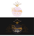 set of two girl color logo projekt lettering vector image
