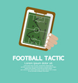 Football Tactic vector image vector image