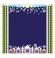 Greeting Christmas and New Year card vector image vector image