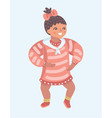 infant child baby girl toddle vector image