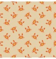 Little crab pattern vector image vector image
