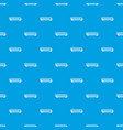 train pattern seamless blue vector image vector image