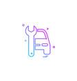auto repair icon design vector image vector image