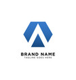 initial a logo design inspiration vector image vector image