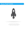 rocket icon for web business finance and vector image vector image