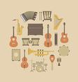 160music instrument vector image
