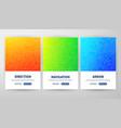 arrow flyer concepts vector image