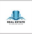 building - logo vector image vector image