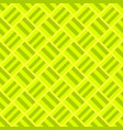 geometrical repeating pattern - square design vector image vector image