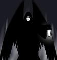 gothic angel vector image