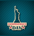independence day background nyc usa symbol 4th vector image vector image