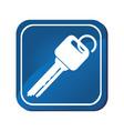 keys car vehicle icon vector image vector image