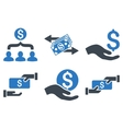 Payment Flat Icons vector image