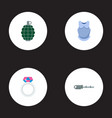 set of game icons flat style symbols with body vector image
