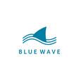 wild wave logo designs vector image