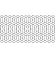 arabic lace seamless pattern with linear vector image vector image
