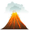 Erupt vector image