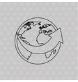 logistic service design vector image vector image