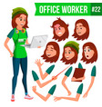 office worker woman businessman human vector image