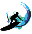 Surfer vector image