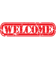 Welcome Stamp vector image vector image