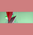 abstract background colorful minimal abstract vector image vector image