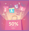 best offer big sale in the store vector image vector image