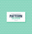 cute blue polka fabric background vector image vector image